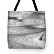 Boiling Mudpot - Artist' Paint Pots Yellowstone National Park Wy Usa Tote Bag by Christine Till