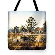 Bois De Fleche Plantation Louisiana 1861 Tote Bag
