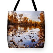 Boise River Autumn Glory Tote Bag