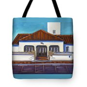 Boise Train Depot Tote Bag