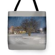 Bojangles Blizzard Tote Bag