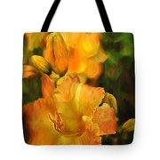 Bokah Lily Tote Bag