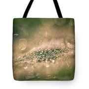 Bokeeh Of Pearls Tote Bag