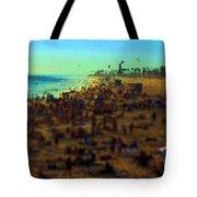Bokeh Beach Tote Bag