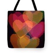 Bokeh Hearts 1 Tote Bag