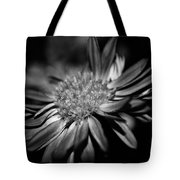 Bold Black And White Flower Tote Bag