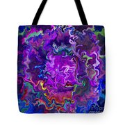 Bold Contrasts Tote Bag