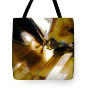 Bold Golden Glow Tote Bag