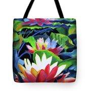 Bold Lilypads Tote Bag