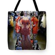 Bold Mannequins Fashion Display In Palma Majorca Spain Tote Bag