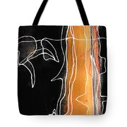 Bold White Lines One Tote Bag