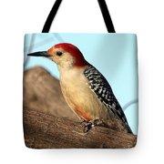 Bold Woodpecker Tote Bag