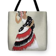 Bolero Costume Tote Bag