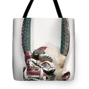 Bolivia: Native Mask Tote Bag