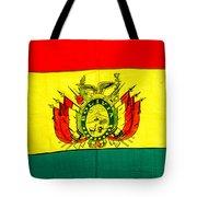 Bolivian Flag Tote Bag