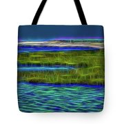 Bolsa Chica Wetlands I Abstract 1 Tote Bag
