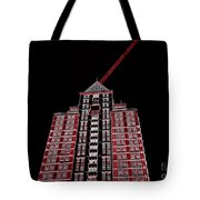 Bolt Out Of Blackness Tote Bag