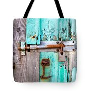 Bolted Door Tote Bag