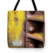 Bolted Iron Tote Bag