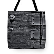 Bolted Wood Tote Bag