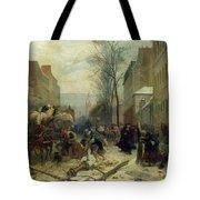 Bombardment Of Paris In 1871 Tote Bag