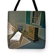 Bon Secour Lounge On The Porch Tote Bag