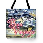 Bon Voyage Cruise Tote Bag