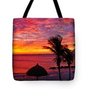 Bonaire Sunset 1 Tote Bag