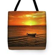 Bonaire Sunset 4 Tote Bag