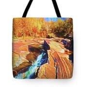 Bonanza Falls Tote Bag