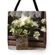 Bonbons White Hydrangeas France Tote Bag