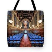 Bond Chapel Pipes View Tote Bag