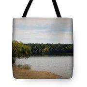 Bond Lake Beach Tote Bag