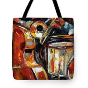 Bone Bass And Drums Tote Bag