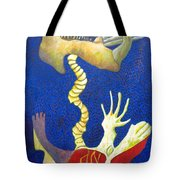 Bone Rocket Tilt Tote Bag
