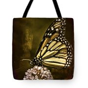 Boneyard Butterfly Tote Bag