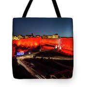 Bonifacio Fortress At Night Tote Bag