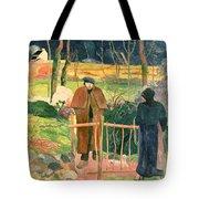 Bonjour Monsieur Gauguin Tote Bag