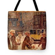 Bonnard: Place Clichy Tote Bag