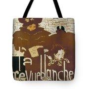 Bonnard Revue 1894 Tote Bag