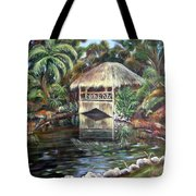 Bonnet House Chickee Tote Bag