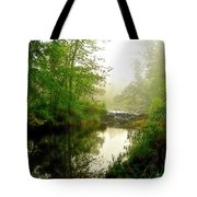 Bonneyville Mill Waterfall Tote Bag