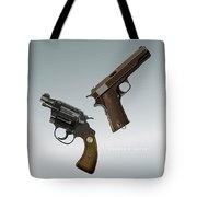 Bonnie And Clyde - Alternative Movie Poster Tote Bag