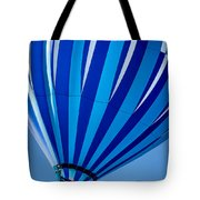 Bonnie Blue - Hot Air Balloon Tote Bag by Ron Pate