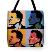Bono Pop Panels Tote Bag