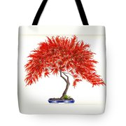 Bonsai Tree - Inaba Shidare Tote Bag