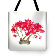 Bonsai Tree - Kurume Azalea Tote Bag