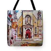 Bonsecours Church Tote Bag