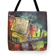 Book City Tote Bag
