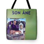 Book Cover Paix A Son Ane Tote Bag